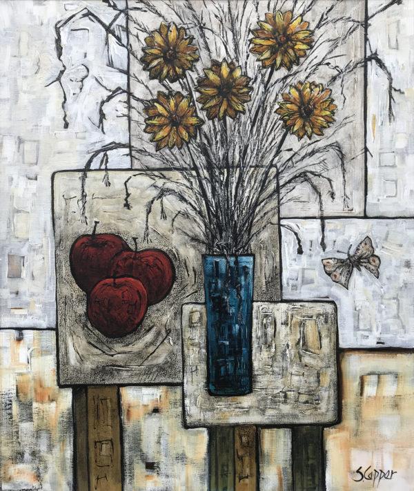 Still Life with Blue Vase II