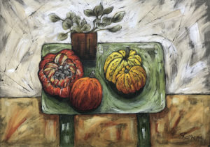 Still Life with Exotic Fruit