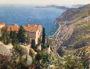 Lionel Aggett Eze Cote d'Azur French Riviera Landscape