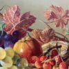Still Life Oil Painting of Fruit by British Painter
