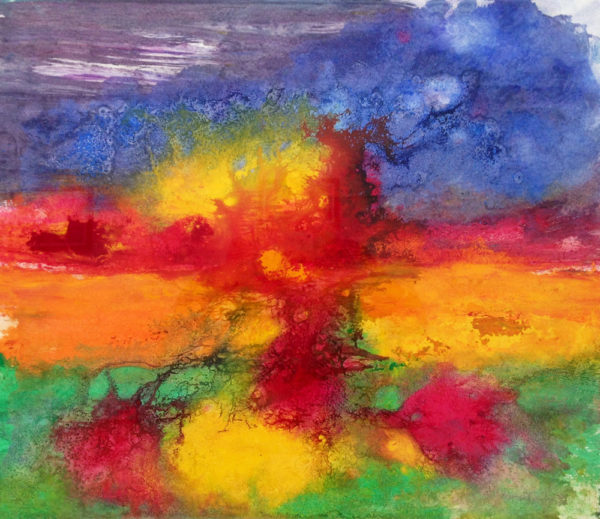 Abstract Painting from British Artist