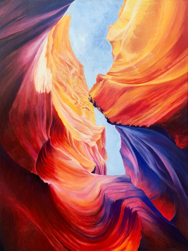 Katarzyna Szulc Antelope Canyon Arizona