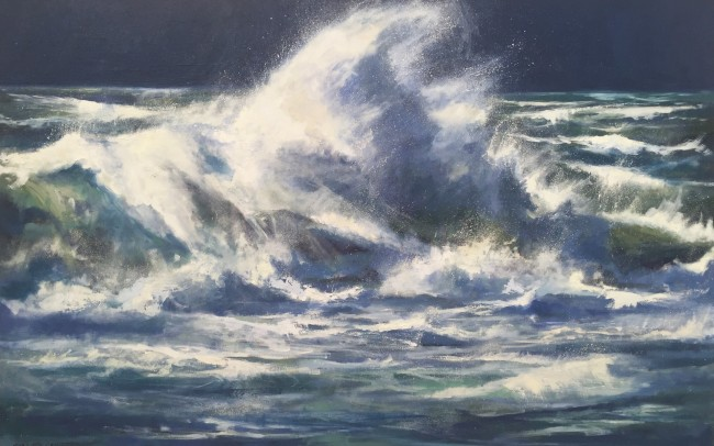large-seascape-painting