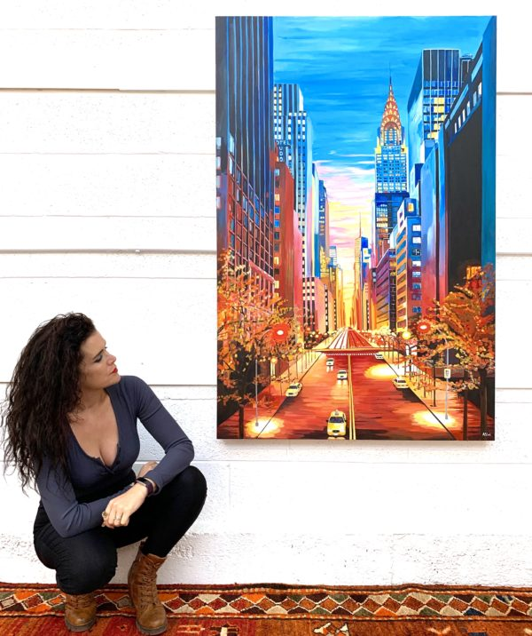 Angela Wakefield New York Paintings