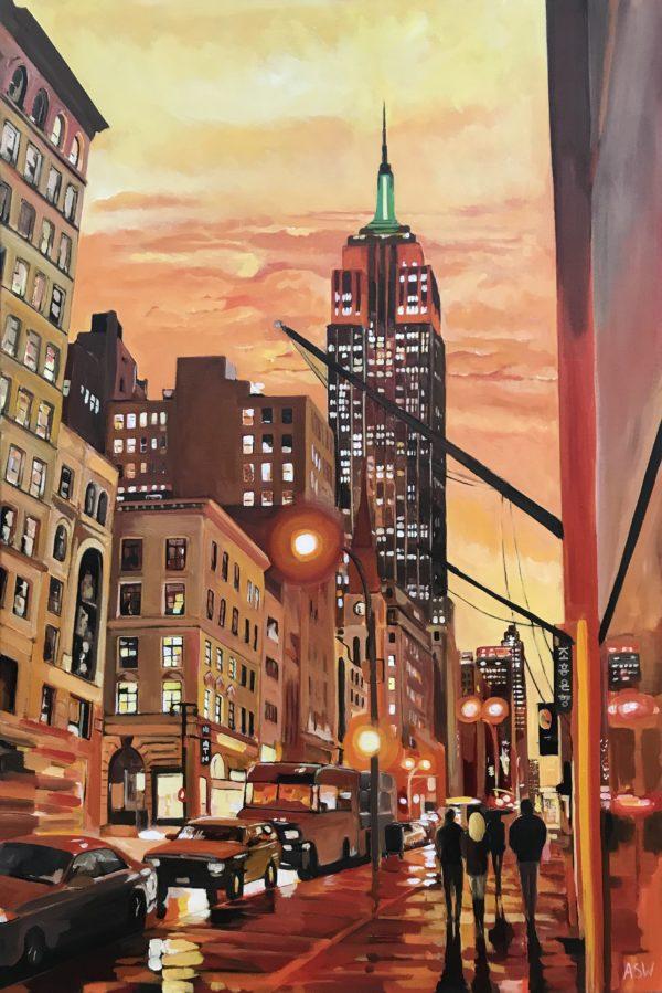 Empire State Building Cityscape