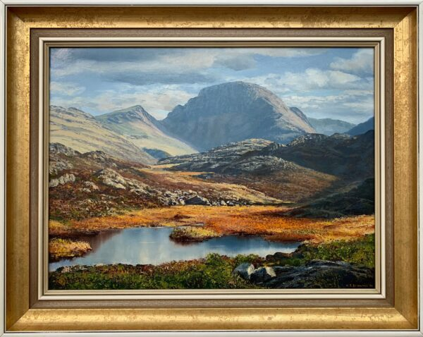 Great Gable in the English Lake District by Modern British Landscape Artist