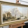 J L Chapman 19th Century Dutch Coastal Scene Circa 1820