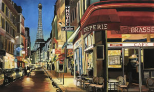Angela Wakefield Paris Painting