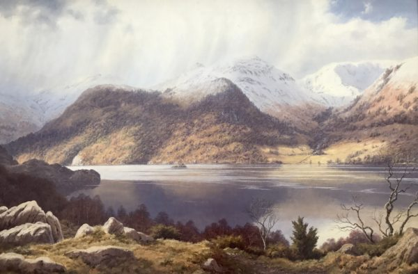 Original Painting of Lake District