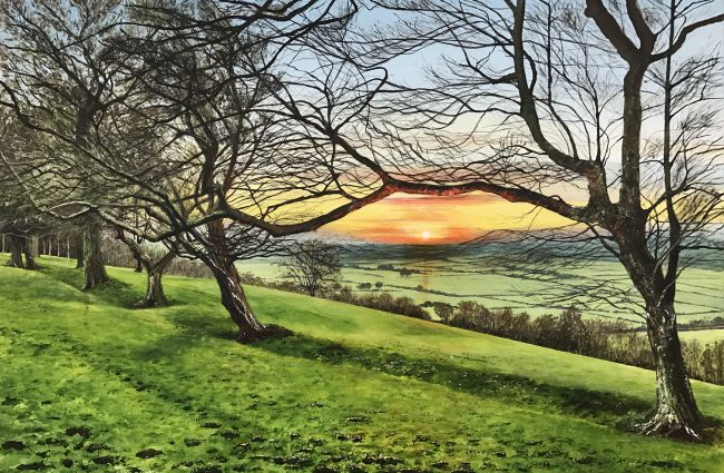 Ribble Valley Sunset