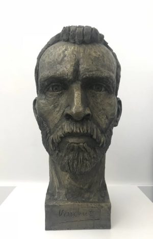 Vincent Van Gogh Bust Sculpture